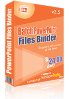 Batch PowerPoint Files Binder discount coupon