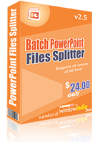 Batch PowerPoint Files Splitter discount coupon