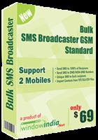 Bulk SMS Broadcaster GSM Standard discount coupon