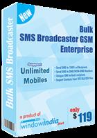 Bulk SMS Broadcaster GSM Enterprise discount coupon