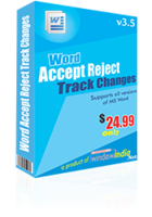 Accept Reject Track Changes discount coupon