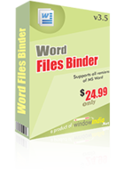 Word Files Binder discount coupon