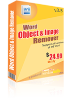 Word Object and Image Remover discount coupon