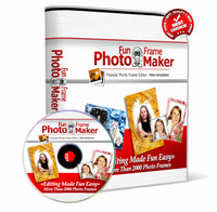 Photo Fun Frame Maker 2014 with Triple Bonus Package discount coupon