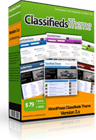 Classifieds Theme promo code to save $20