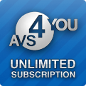 Discount code of AVS4YOU Unlimited Subscription,  	Register Unlimited License and use all 16 multimedia tools without any limits!