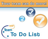 <p> 	VIP Team To Do List is a professional time and task management software for small and midsize business. It lets users create and manage team to-do lists, publish them on Web or send tasks to team members by email. It's an organizer, planner, notepad and reminder combined in one powerful application. Use our software to organize, prioritize and track tasks, manage projects, workflow and events, plan your team work for days, months and years ahead.</p>