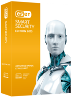 ESET Smart Security - Nouvelle licence 1 an pour 4 ordinateurs