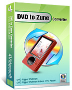 <p> 	4Videosoft DVD to Zune Converter is one easy-to-handle DVD to Zune Converter.</p>