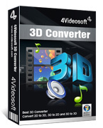 4Videosoft 3D Converter Screen shot