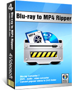 <p> 	4Videosoft Blu-ray to MP4 Ripper can rip Blu-ray disc, DVD and all video files to MP4 and other video formats, including AVI, MOV, WMV and HD videos: HD H.264, HD AVI, HD MPEG 4, HD MOV, H.264/MPEG-4 AVC and more.</p>