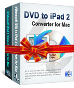 <p> 	4Videosoft DVD to iPad 2 Suite for Mac is best 2-in-1 iPad Converter software that is combined of DVD to iPad 2 Converter for Mac/iPad 2 Video Converter for Mac. It is designed for iPad 2 users to convert any DVD/video files to iPad 2 for enjoyment.</p>