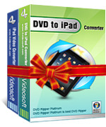 <p> 	4Videosoft DVD to iPad Suite is combined with two wonderful converters – DVD to iPad Converter and iPad Video Converter. It can convert video to iPad and rip DVD to iPad with lossless sound quality and super fastest conversion speed.</p>