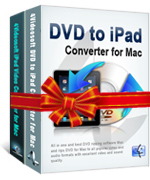 <p> 	4Videosoft DVD to iPad Suite for Mac is the most professional Mac iPad Converter software which packs DVD to iPad Converter for Mac and iPad Video Converter for Mac. Obviously, it acts as a Mac DVD to iPad converter to rip DVD to iPad.</p>