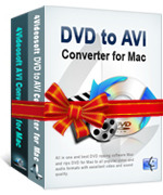 <p> 	<span>4Videosoft AVI Converter Suite for Mac can not only convert DVD video to AVI, H.264 AVI(.avi), DivX(.avi), XviD(.avi), HD AVI on Mac for players which support AVI format, but also convert any video, HD video to AVI, H.264 AVI (.avi), DivX(.avi), ect.</span></p>