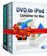 <p> 	<span>4Videosoft DVD to iPod Suite for Mac can not only convert DVD video to iPod, iPod touch, iPod nano, iPod classic, even iPhone, Apple TV supporting files on Mac but also transfer most video for your iPod, iPod touch, iPod nano, iPhone on Mac.</span></p>