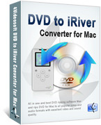 <p> 	4Videosoft DVD to iRiver Converter for Mac, being a powerful and professional Mac DVD to iRiver Converter that specially made for Mac users, can convert DVD to iRiver video and audio with superb quality.</p>