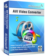 <p> 	Convert any video to AVI/AAC/AC3/MP3/M4A/MP2/WAV, support all the AVI players.</p>
