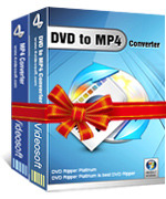 <p> 	4Videosoft DVD to MP4 Suite is the best combination of DVD to MP4 Converter and MP4 Video Converter. It can rip DVD to MP4 and extract audio from DVD to M4A, MP3, AAC, etc. Also, it can convert all the mainstream video and audio formats to MP4.</p>