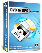 <p> 	4Videosoft DVD to DPG Converter is such a professional DVD Converter to DPG that assists you to convert/rip DVD to any popular video and audio formats. It also supports various portable digital players.</p>