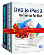 Click to view 4Videosoft DVD to iPad 3 Suite for Mac screenshots