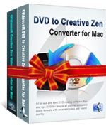 4Videosoft Creative Zen Converter Suite for Mac Screen shot