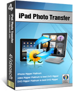 4Videosoft iPad Photo Transfer Screen shot