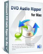 <p> 	4Videosoft DVD Audio Ripper for Mac is the best Mac DVD Audio Ripper software and is a program designed just for Mac OS X (include Mac OS X 10.5 leopard, Mac Intel and Mac PowerPC) users. This Mac DVD Audio Ripper can rip DVD audio to MP3 Mac.</p>