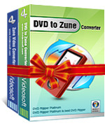<p> 	4Videosoft DVD to Zune Suite is specially designed for Zune players and it is discounted software to rip DVD to Zune and convert video to Zune supported formats.</p>
