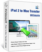 <p> 	4Videosoft iPad 2 to Mac Transfer is a professional iPad 2 managing software which has powerful functions. This iPad 2 to Mac Transfer can copy your selected video, audio and image files from iPad 2 to your Mac immediately with the original quality.</p>