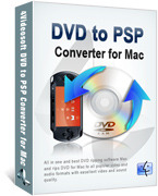 <p> 	<span>4VideoSoft DVD to PSP Converter for Mac es poderoso Mac DVD to PSP Converter para usuarios de Mac para convertir DVD a formatos de video/audio compatible con PSP.</span></p>