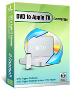 <p> 	4Videosoft DVD to Apple TV Converter is one DVD to Apple TV Converter software.</p>