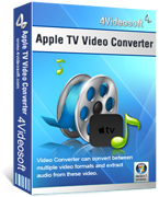 <p> Convertir todas las fuentes de vídeo a vídeo de Apple TV y formatos de audio. </p>