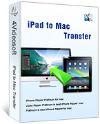 4Videosoft iPad to Mac Transfer
