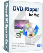 <p> 	4Videosft DVD Ripper for Mac can rip DVD file to any popular video and audio formats with high converting speed and quality. It also provides users with versatile editing and profile setting functions, which can help users optimize the video effect.</p>
