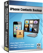 4Videosoft iPhone Contacts Backup coupon