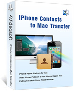 4Videosoft iPhone Contacts to Mac Transfer