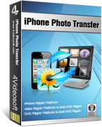 buy discount 4Videosoft iPhone Photo Transfer with coupon code