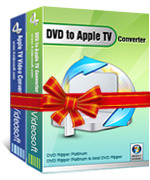 <p>4VideoSoft DVD a Apple TV Suite, el descuento DVD Video to Apple TV Converter, es dedicado a convertir DVD a Apple TV MP4, DVD a Apple TV MP3, M4A con lossless calidad de imagen y sonido de salida.</p>