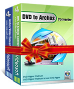 <p> 	4Videosoft DVD to Archos Suite combines two Archos Converters: DVD to Archos Ripper, Archos Movie Converter. It can convert DVD to Archos 750 video, Archos 5 video, Archos 105 video and convert any video and audio formats to what  Archos supported.</p>