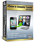 <p> 	4Videosoft iPhone to Computer Transfer is the ultimate iPhone to Computer software to transfer iPhone songs and movies, photo, ringtone to computer easily and completely without any loss for you to backup.</p>