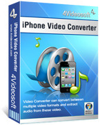4Videosoft iPhone Video Converter coupon