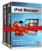 <p>4VideoSoft iPod + iPhone 4 Mate incluye administrador de iPod y iPhone 4 Ringtone software. Importar archivos locales para iPod/iPhone, transferencia o copiar archivos de iPod/iPhone 4 en el disco local de PC y crear iPhone 4 ringtone M4R de todos los archivos de audio/vídeo 3GP/AVI/MKV, ect.</p>