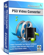 <p> 	Convert video formats to PS3 video, convert audio formats to PS3 MP3, M4A, AAC.</p>