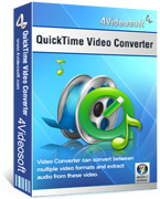 <p> 	Convert any video and audio files to be played on QuickTime with fast speed.</p>
