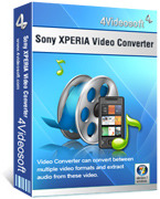 <p> 	4Videosoft Sony XPERIA Video Converter is the specially designed video converter for the new Windows Mobile Phone - Sony XPERIA. It can convert all the video to MPEG-4(.mp4), H.264(.mp4), MP4, 3GP video.</p>