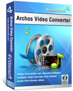 <p> 	4Videosoft Archos Video Converter is the vital converter for Archos users. This professional tool can convert any video and audio format to Archos MP4, H.264/MPEG-4 AVC(.mp4), WMV, AVI, MP3, WMA, M4A, WAV video and audio formats.</p>