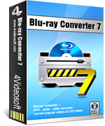 <p> 	4Videosoft Blu-ray Converter can convert Blu-ray disc and common DVD to any video and audio formats, like MP4, AVI, MOV, WMV, MPEG, HD TS, HD MOV, etc.</p>
