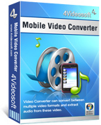 <p> 	Convert all the common video and audio to mobile 3GP, 3G2, MP4, AVI, WMV, ect.</p>