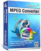 4Videosoft MPEG Converter discount coupon